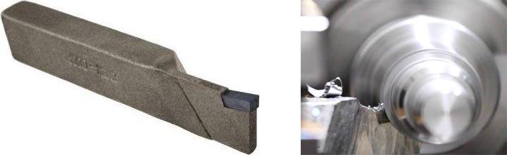 Использование отрезных резцов на токарном оборудовании