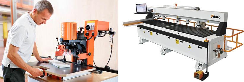 Бытовые и промышленные станки для производства мебели