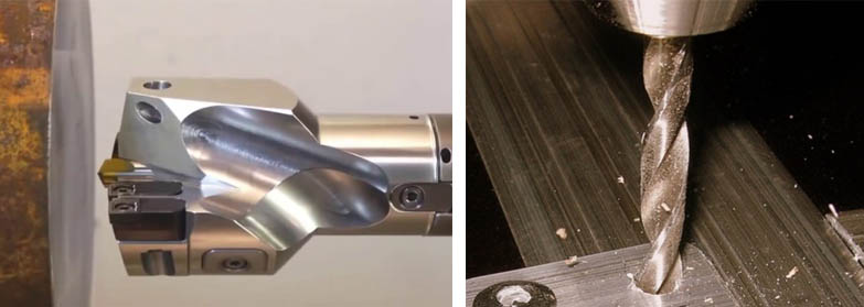 Как в металле просверлить отверстие большой формы