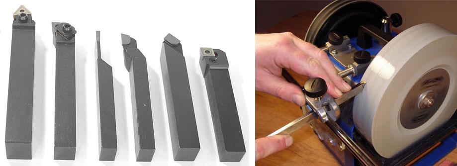 Правила заточки токарных резцов по металлу