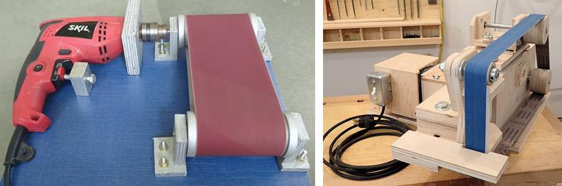 Самодельный шлифовальный агрегат для домашней мастерской