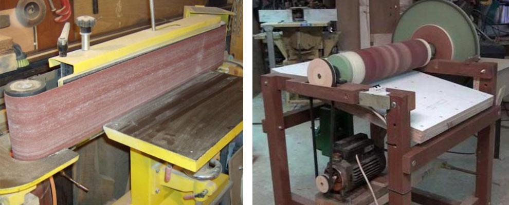 Самодельный шлифовальный станок для гаража или домашней мастерской