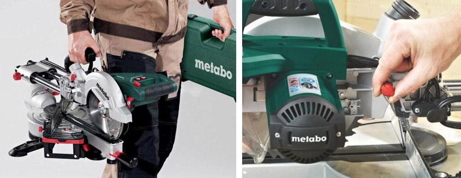 электропила фирмы Metabo KGS216 M