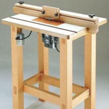 Как самому сделать стол для ручного фрезера