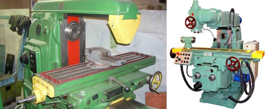 Фрезерный станок модели 6Р82