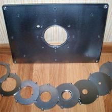 Обзор фрезерных пластин, инструкция по изготовлению и монтажу