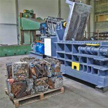 Описание и характеристики прессов для металлических отходов