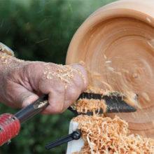 Резцы для токарных работ с древесиной и другая оснастка