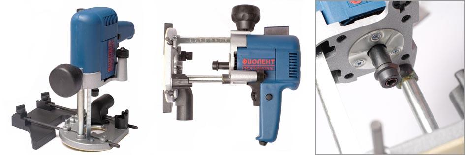 Машина фрезерная Фиолент МФ4-1100Э для профессиональных столярно-слесарных и плотницких работ